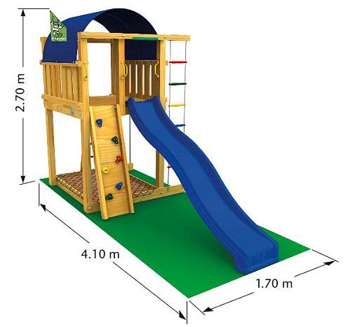 Парк развлечений компонентов радуги детская площадка